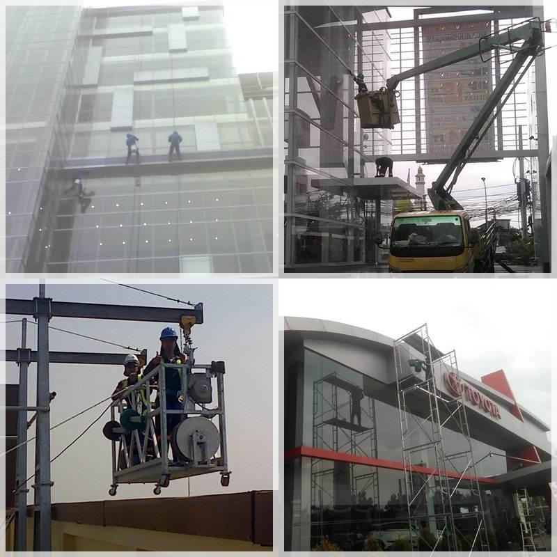 Perusahaan jasa cleaning service pembersih kaca gedung bandung jakarta depok bogor tangerang bekasi cikarang