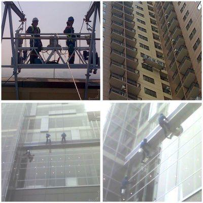 Jasa pembersih kaca gedung bertingkat handal-PT.Buana Insan Gemilang