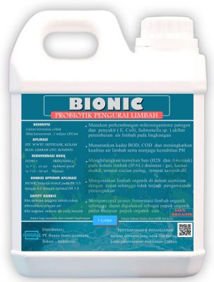 Probiotik pengurai limbah - BIONIC - jasa pengolahan air limbah